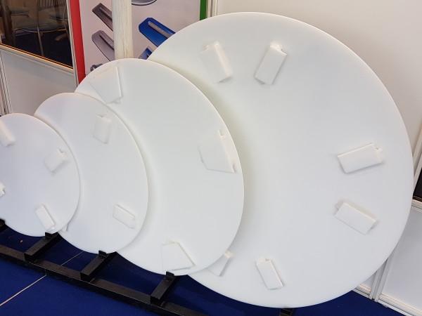 Пластиковые диски для бетонозатирочных машин.